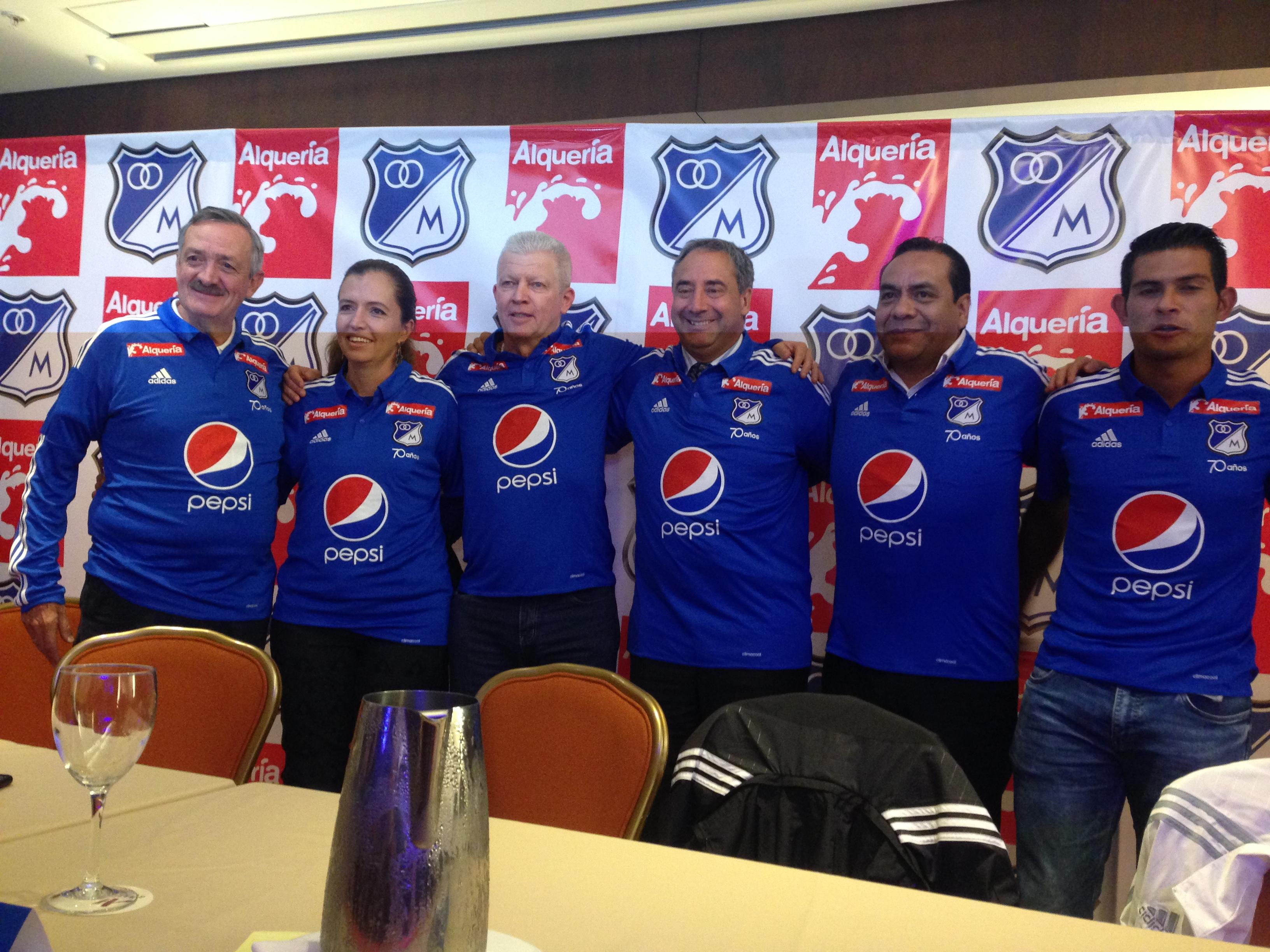 Alquería es el nuevo patrocinador de Millonarios FC