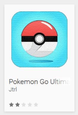 Pokémon GO: ESET advierte sobre aplicaciones falsas en Google Play