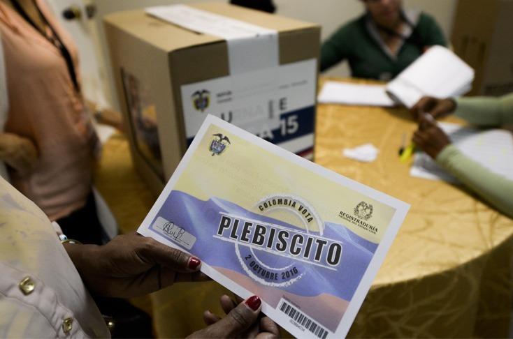 Colombianos quieren un segundo plebiscito para la paz
