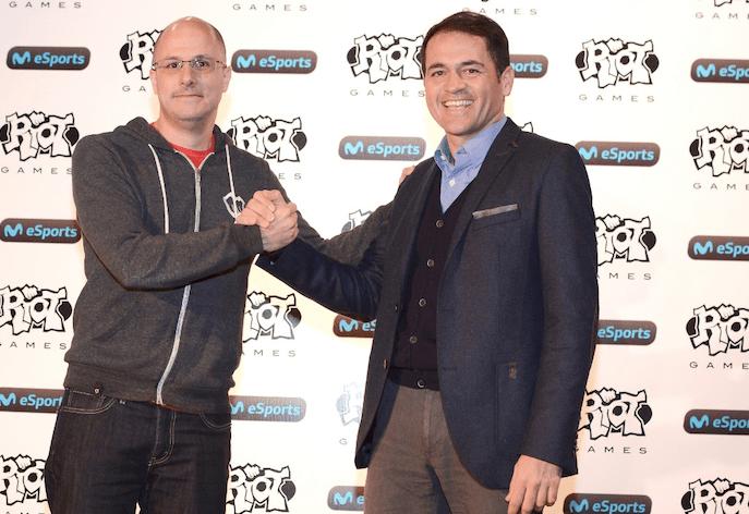 Telefónica y Riot presentan la nueva Liga Movistar Latinoamérica de League of Legends.