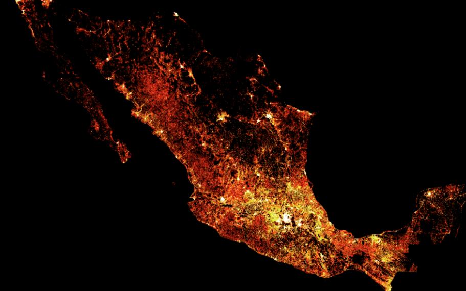 Facebook presentó sus mapas de densidad de población de América Latina
