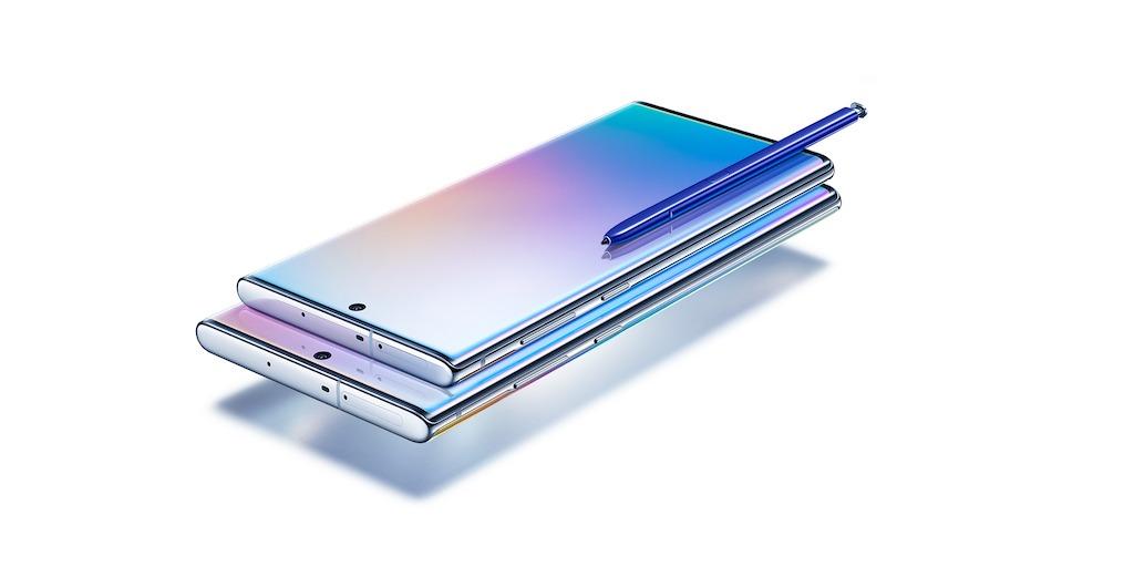 Samsung presentó su Galaxy Note 10: diseñado para trabajar