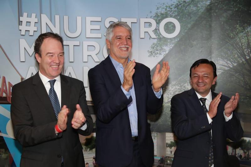 """""""Bogotá aseguró el Metro"""": alcalde Enrique Peñalosa"""