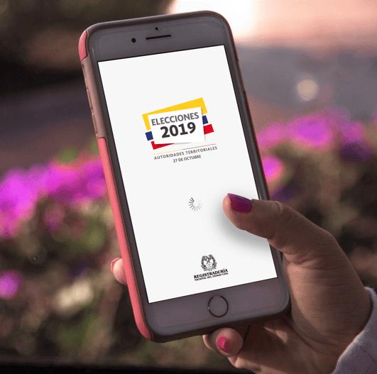 Los colombianos ya pueden descargar la aplicación móvil para seguir los resultados de las votaciones este domingo 27 de octubre