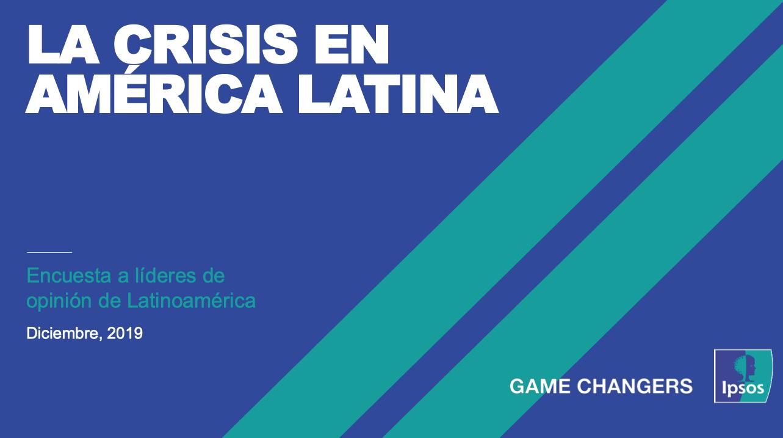 Desigualdad y corrupción principales causas de crisis política en América Latina según periodistas y líderes de la región