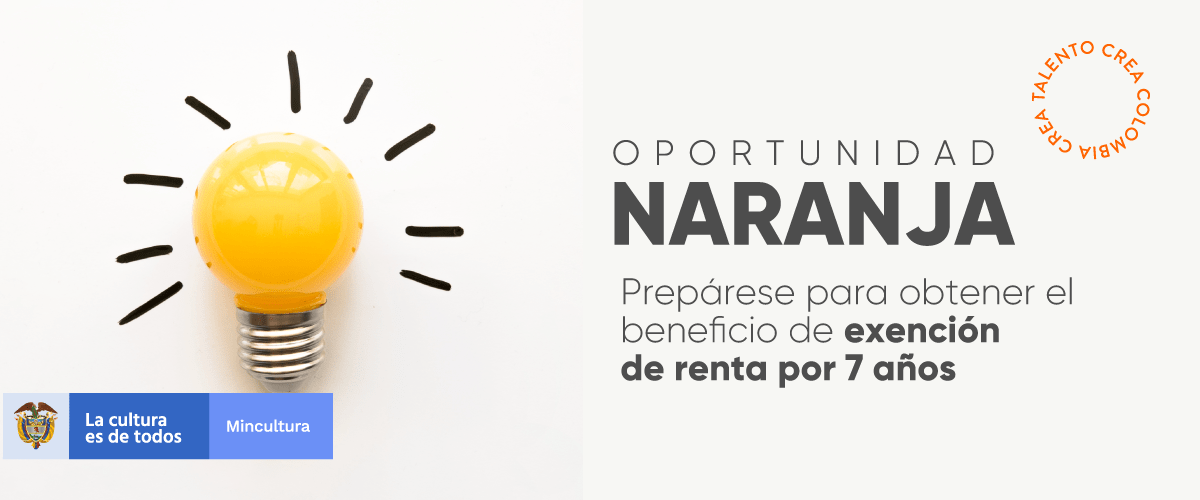 Gobierno Nacional abre convocatoria a empresas de Economía Naranja para acceder a exención de renta por 7 años