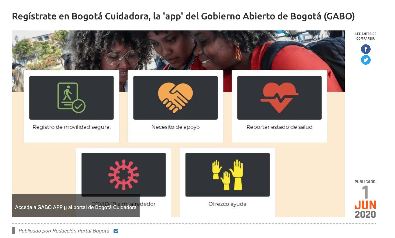 Bogotá ¿cuidadora?