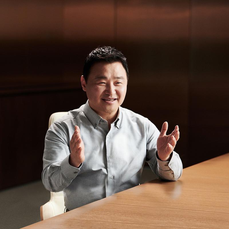 TM Roh, presidente y líder de negocios de Comunicaciones Móviles de Samsung Electronics