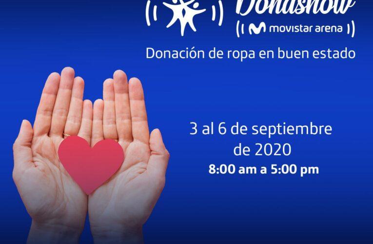 DonaShow: donar ropa para los más necesitados de Bogotá