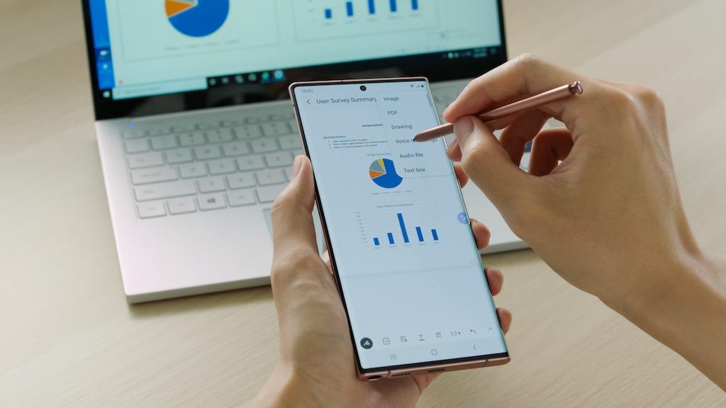 Samsung Galaxy Note 20:  potencie su trabajo y juego