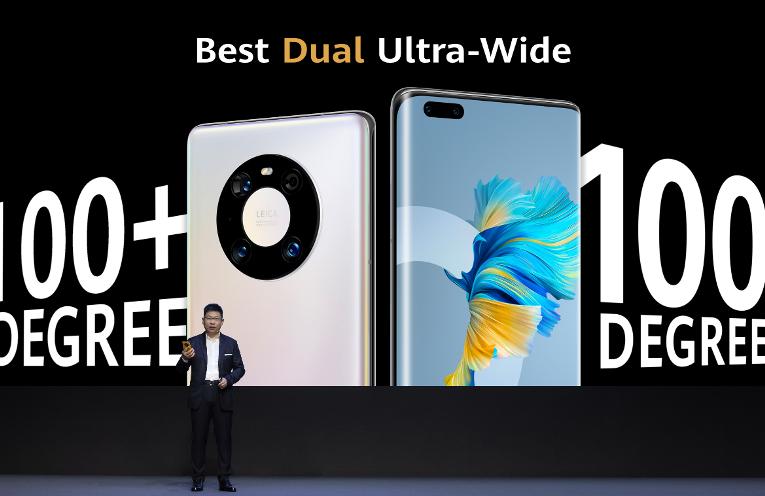 Huawei reveló la serie Mate 40