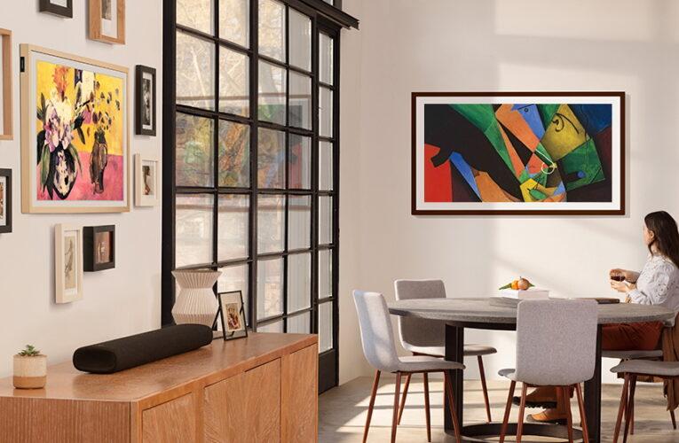 The Frame: TV al encenderse, arte al apagarse apoya la reactivación del arte