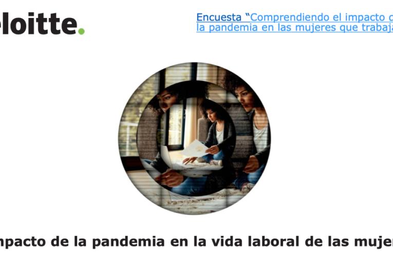 Impacto de la pandemia en la vida laboral de las mujeres