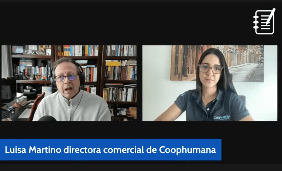 Luisa Martino, Coophumana